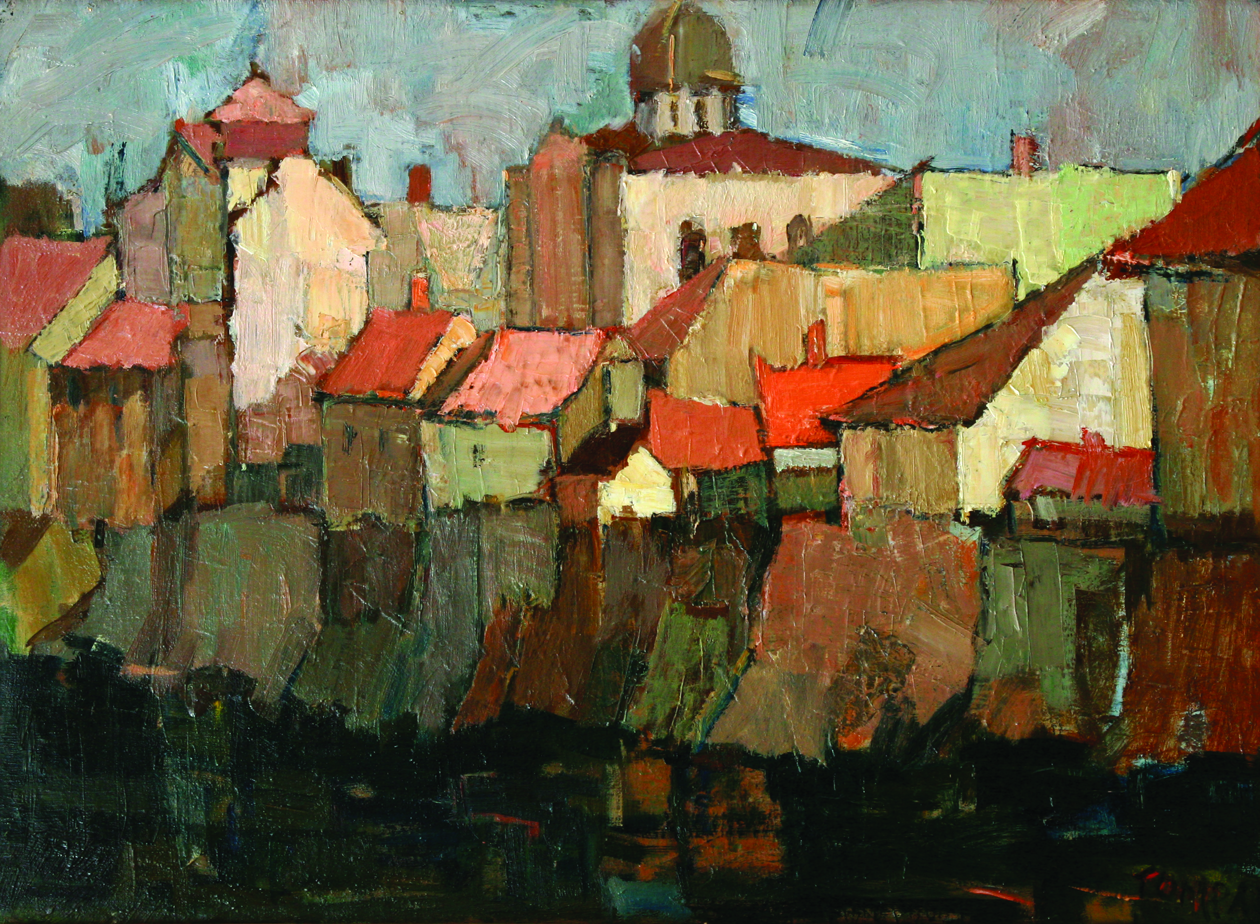 Expoziţia Pictori şi sculptori orădeni din colecțiile Muzeului Țării Crișurilor  (1950-1980)